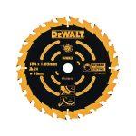 DeWalt DT10302-QZ Circular Saw Blade 184 x 16mm x 24T Corded Extre…