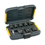 DeWalt DT7507-QZ Impact Socket Set of 9 Metric 1/2in Drive