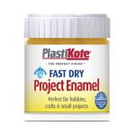 Plastikote 440.0000033.067 Fast Dry Enamel Paint B33 Bottle Brass 59ml