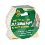 Duck Tape 232205 Easy Off Mask Tape 50mm x 25m