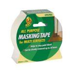 Duck Tape 232318 All Purpose Masking Tape 50mm x 50m