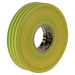 Everbuild 2ELECYELGRN Electrical Insulation Tape Yellow/Green 19mm…