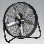 Sealey HVF20 Industrial High Velocity Floor Fan 20″ 230V