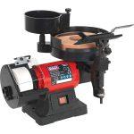 Sealey SMS2107 Bench Grinder/Sharpener Wet and Dry diameter 200/125mm 250W/230V