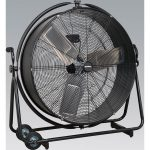 Sealey HVF30S Industrial High Velocity Orbital Drum Fan 30″ 230V