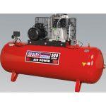 Sealey SAC65010B Compressor 500ltr Belt Drive 10hp 3ph 2-Stage