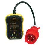 Martindale MARPC105/63 3 Phase Industrial Socket Tester 63A