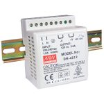Mean Well DR-45-12 12V / 42W Step Shape Din Rail PSU