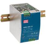 Mean Well NDR-480-24 24V / 480W Slim/Economical Din Rail PSU