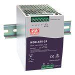 Mean Well WDR-480-24 24V / 480W Slim/Wide input range PSU Active PFC