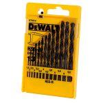 DeWalt DT5912 HSS-R DIN 338 Jobber Metal Drill Bit Set 13pc