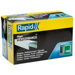 Rapid 11905711 140/6 6mm Galvanised Staples Box Of 5000