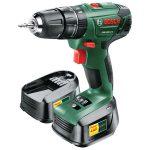 Bosch 06039A3371 PSB 1800 LI-2 Cordless Combi Drill – 2 Batteries