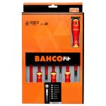 Bahco B220.017 BahcoFit Insulated VDE Screwdriver Set Slot/PZ – 7 …
