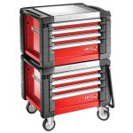 Facom JET.CR4M3 Jet+ 4 Drawer Roller Cabinets – 3 Modules Per Draw…