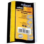 Rolson 43009 3 in 1 Ice Scraper