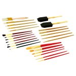 Rolson 60965 25pc Artist Brush Set