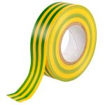 Ultratape Green/Yellow PVC Insulating Tape 19mm x 20m