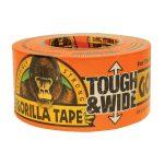Gorilla Glue 3044301 Tape Tough and Wide 73mm x 27m