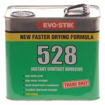 Evo-Stik 805705 528 Instant Contact Adhesive 2.5 Litre