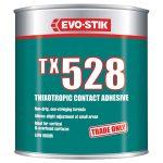 Evo-Stik 657502 TX528 Thixotropic Contact Adhesive 1 Litre
