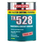 Evo-Stik 657700 TX528 Thixotropic Contact Adhesive 5 Litre