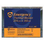 Blue Dot 30BDFB18 Emergency Foil Blanket 204 x 140cm