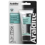 Araldite ARA-400021 Crystal Fix Grab Adhesive Tube 200ml