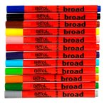 Berol Colourbroad Pens – Pack of 12