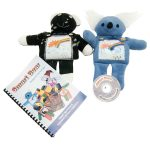 Light Stitches Smart Bear Book and CD