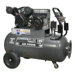 Sealey SAC3103B Compressor 100ltr Belt Drive 3hp with Front Contro…
