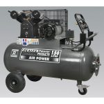 Sealey SAC3153B Compressor 150ltr Belt Drive 3hp with Front Contro…