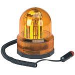 Sealey RB75412 Rotating Amber Beacon 12V Magnetic Base