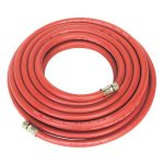 Sealey AHC10 Air Hose 10m x diameter 8mm with 1/4in.bsp Unions