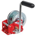 Sealey GWE1200B Geared Hand Winch with Brake 540kg Capacity