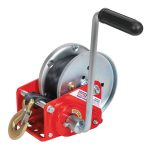 Sealey GWW2000B Geared Hand Winch with Brake and Webbing 900kg Capacity