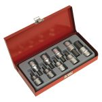 Sealey AK620 Hex Socket Bit Set 9pc 1/2″sq Drive