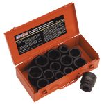 Sealey AK686 Impact Socket Set 13pc 3/4″sq Drive Metric/imperial