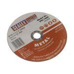 Sealey PTC/180C Cutting Disc diameter 180 x 3mm 22mm Bore
