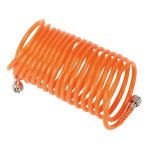 Sealey SA335 Coiled Air Hose 5mtr diameter 5mm with 1/4″BSP Unions
