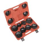 Sealey VS7004 Oil Filter Cap Wrench Set 13pc – Euro Vehicles