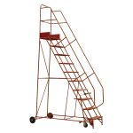 Sealey MSS12 Mobile Safety Steps 12-tread