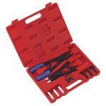 Sealey AK8500 Circlip Pliers Set Internal/external 265mm Heavy-duty