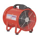 Sealey VEN200 Portable Ventilator diameter 200mm with 5mtr Ducting