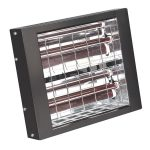 Sealey IWMH3000 Infrared Quartz Heater – Wall Mounting 3000W/230V