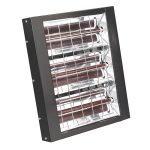 Sealey IWMH4500 Infrared Quartz Heater – Wall Mounting 4500w/230v