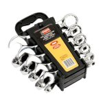 Siegen S0561 Combination Spanner Set Stubby 10pc Metric