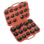 Sealey VS7006 Oil Filter Cap Wrench Set 30pc