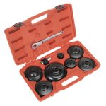Sealey VS7007 Oil Filter Cap Wrench Set 9pc – Commercials