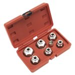 Sealey VS7008 Oil Filter Cap Wrench Set 7pc